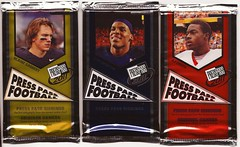 2011 Press Pass Football packs