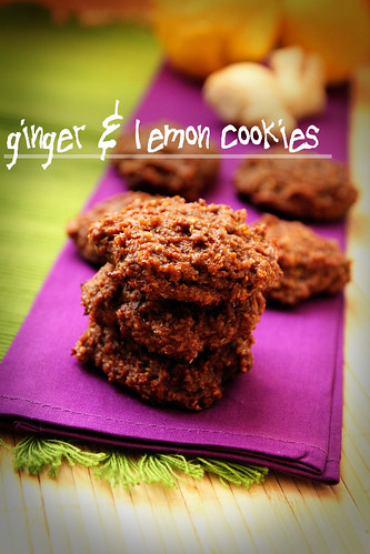 Ginger-&-lemon-cookies