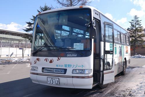 虹夕諾雅-接駁巴士