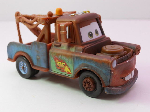 disney cars 2 race team mater loose