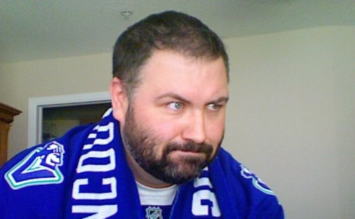2011 Canucks Playoff Beard 3 - Day 41 - Game Face