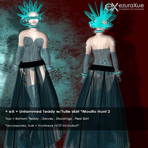 + eX + Untammed Teddy w/Tulle Skirt *Moolto Hunt 2