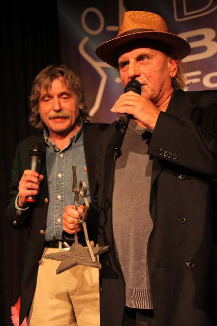 Johan Derksen en Harry Muskee (foto- Rien Wisse)