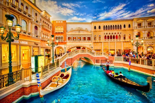 Gondola Ride at the Venetian Grand Canal, Las Vegas