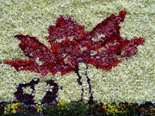 Higashi Honganji floral tribute