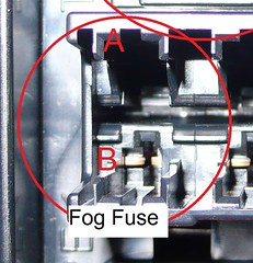 Fog lights w OEM switch: Connecting the Relay and Fuse