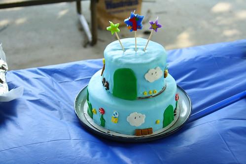 Mario Cake!