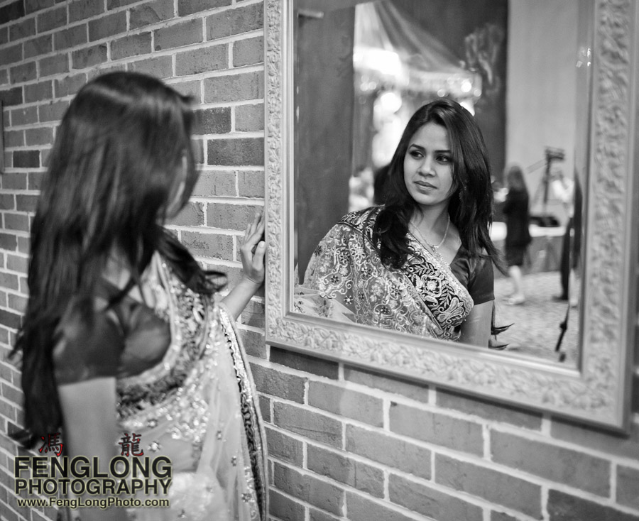Serena at Nishi's Indian Wedding Reception | Zyka Decatur | Atlanta Wedding Photographer