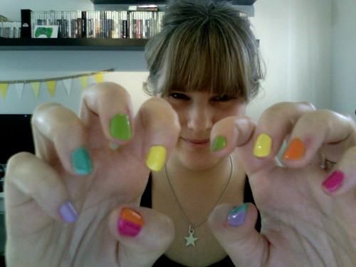 My Rainbow Nails