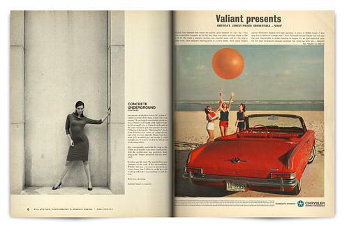 Design Project: LOOK Magazine Spread - pgs. 6 & 7