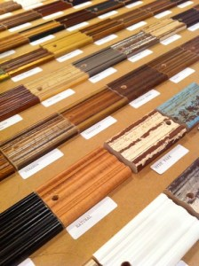 Old Hickory Tannery finish samples