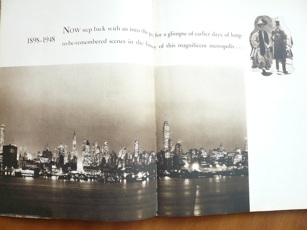 The New York Skyline in the 1940s