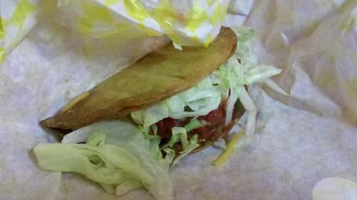 chicken alaskan taco