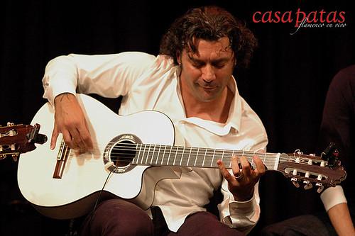 Josemi Carmona en Casa Patas. Foto: Martín Guerrero