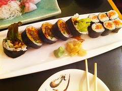 Spider Roll & Spicy Tuna Roll - Geido