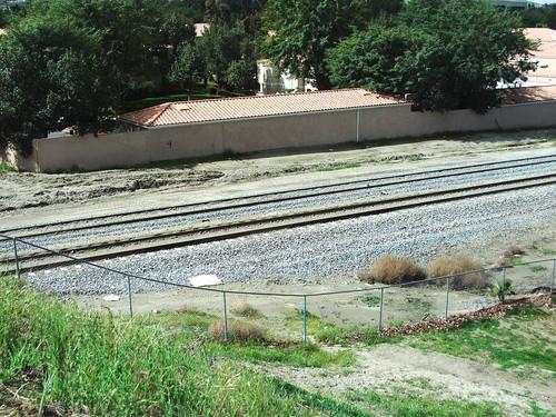 Railroad Tracks In Loma Linda