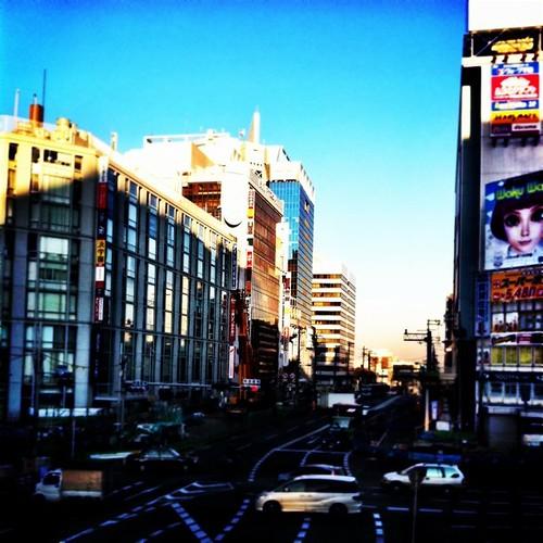 (^o^)ノ < おはよー! 今朝もいい天気だね! 今日も笑顔でがんばろ~! #Osaka #Abeno #morning