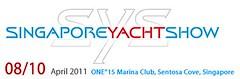 Singapore Yacht Show on April 8