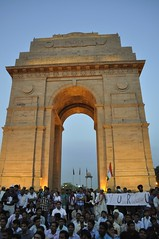 March at India Gate