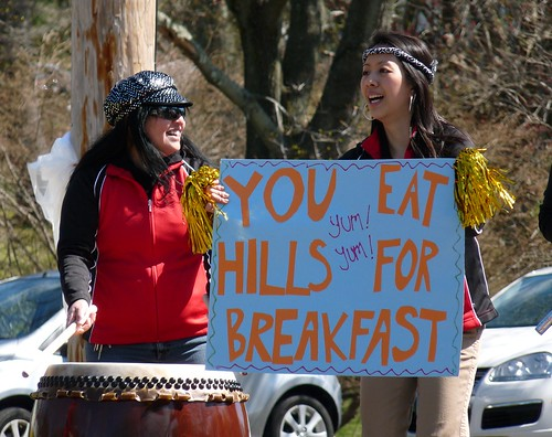 You eat hills for breakfast!
