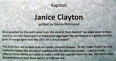 Kapitoil Inspired Quilt Extravaganza