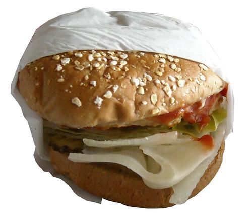 Carl's Jr. Charbroiled Turkey Burger