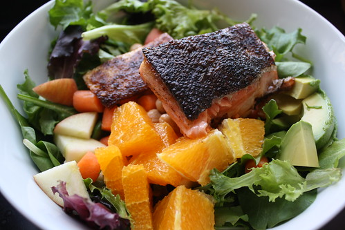 Arctic Char & Kitchen Sink Salad