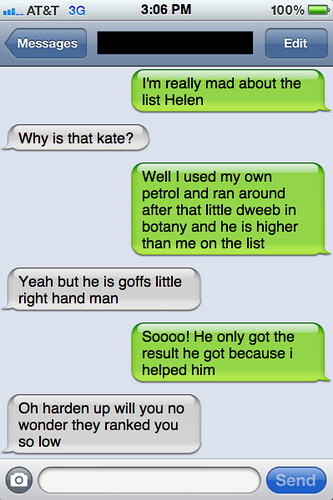 Txts from new York - Kate and Helen have a chat