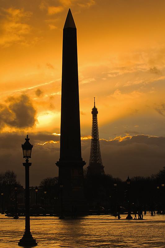 Dawn at Paris
