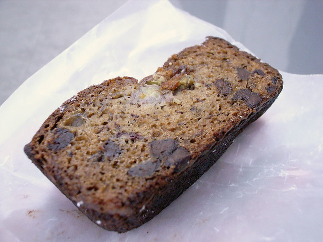 Banana bread from Peels