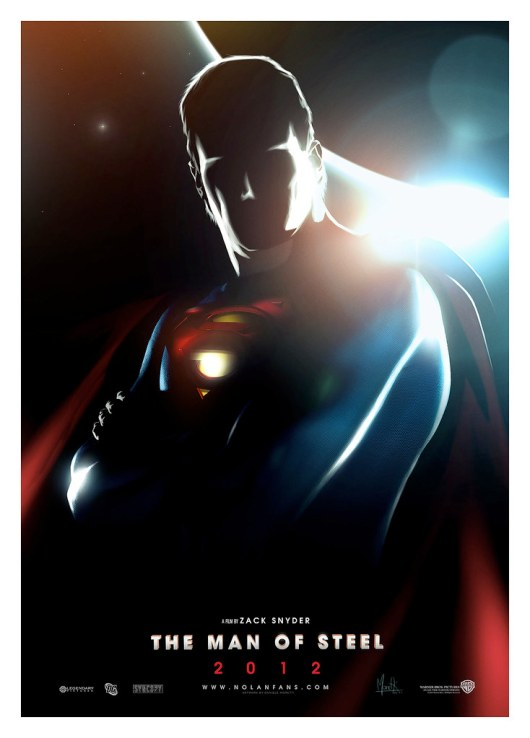 SUPERMAN : Man Of Steel (2012) ARTWORK