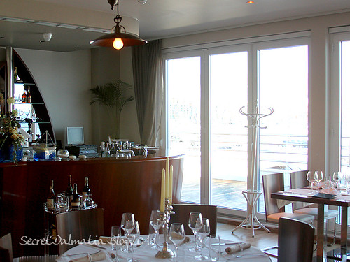 The interior - summer terrace will offer stunning views of Split!