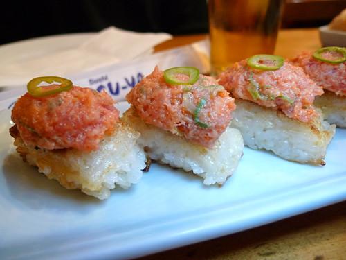 Katsu-Ya's Spicy Tuna on Crispy Rice