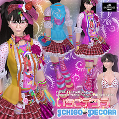 Ichigo Decora at BareRose @ The Deck