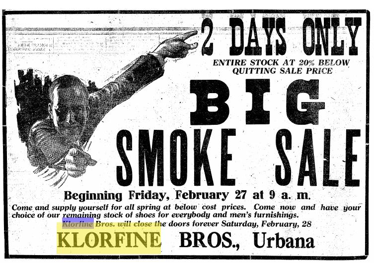 Klorfine Bros. Feb. 26, 1920