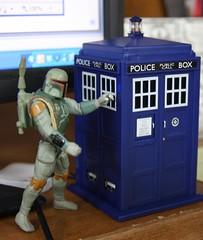 Boba Fett and the TARDIS