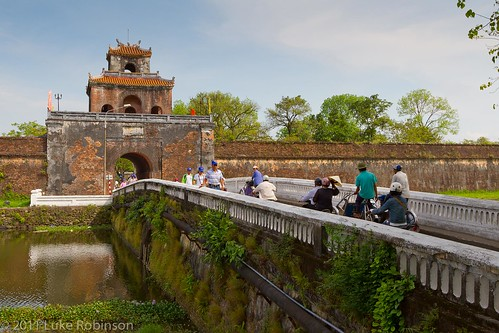 Ngan Gate, Imperial City, Hue