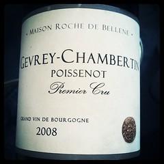 Gevrey Chambertin Poissenot 1er Cru 2008 Maison Roche de Bellene