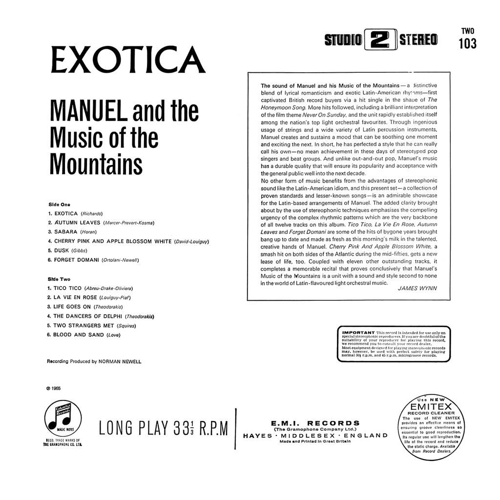Geoff Love - Exotica