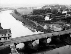 """The Water Bridge and Low Green (1971-2) • <a style=""""font-size:0.8em;"""" href=""""http://www.flickr.com/photos/36664261@N05/14241823134/"""" target=""""_blank"""">View on Flickr</a>"""