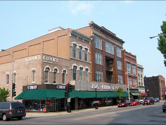 Joseph Kuhn & Co. Clothiers Champaign IL