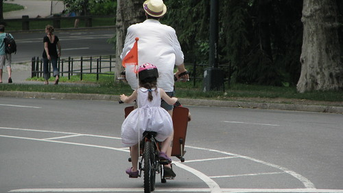 Bakfiets chic in Central Park by lp_nyc