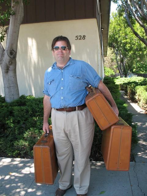 Richard scores vintage Samsonite luggage set, San Luis Obispo