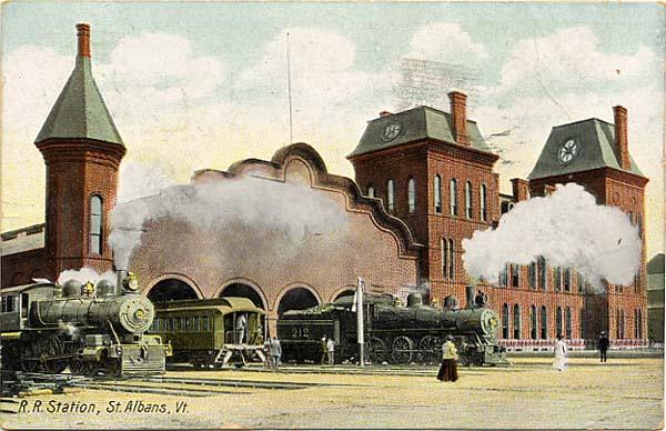 St. Albans RR Station