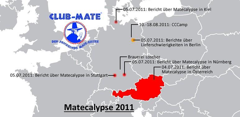 Mapping Matecalypse 2011...