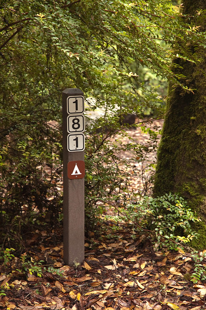 Big Basin Camp Marker