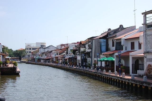 The trip: Malacca river