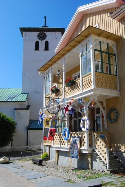 Bonita casa de Marstrand