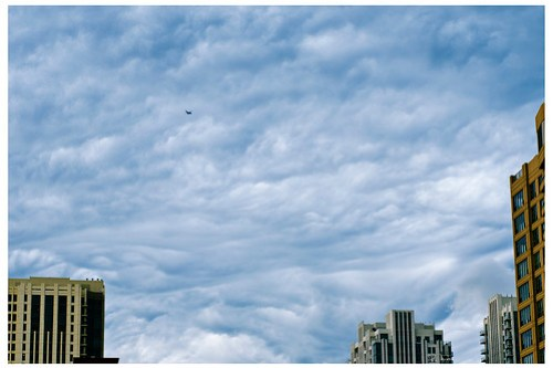 Cloudscape in the West Loop - Number 2200