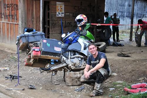 KLR 650 Bike Trip Guatemala 160